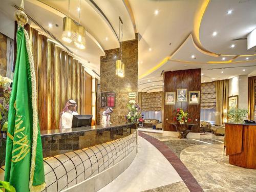 منطقة الاستقبال أو اللوبي في فندق إيلاف كندة