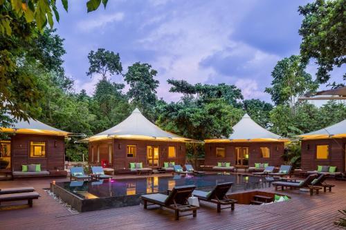 The swimming pool at or near The Treasure Koh Madsum - Samui