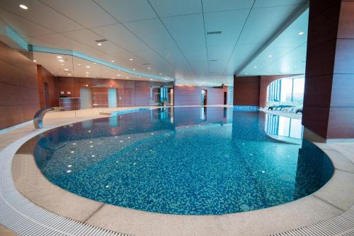 The swimming pool at or near Hotel Mellain