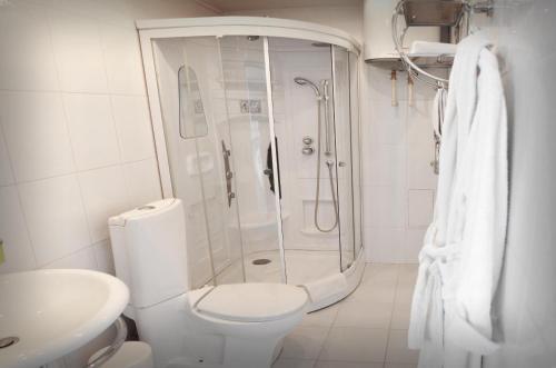 Ванная комната в Hotel California