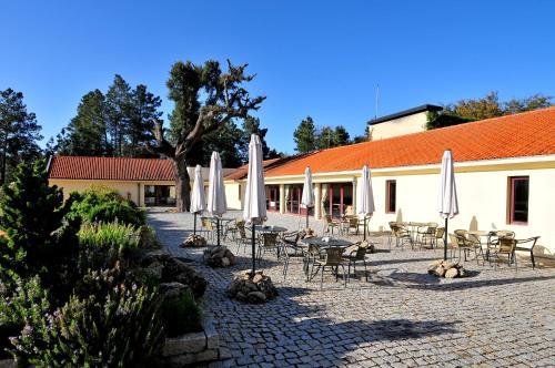 Um restaurante ou outro lugar para comer em Pousada de Belmonte