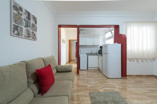 Zona de estar de Apartamentos Vacacionales Las Palmas Urban Center