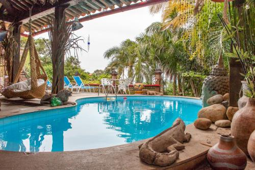The swimming pool at or near Aquabarra Boutique Hotel & Spa