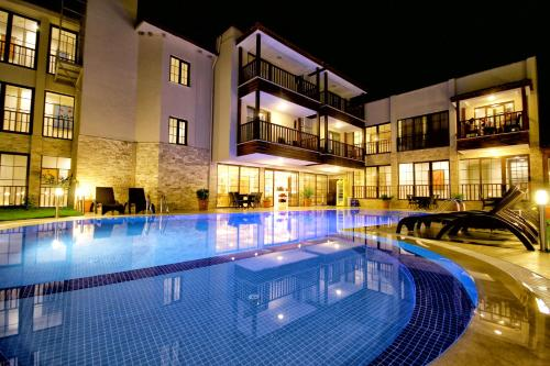 The swimming pool at or near Venus Suite Hotel