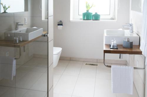 Ein Badezimmer in der Unterkunft B&B hombergen101