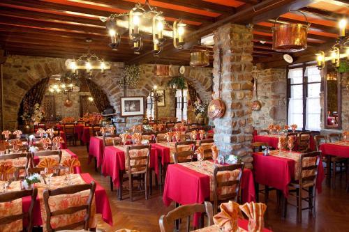 老旅館餐廳或用餐的地方