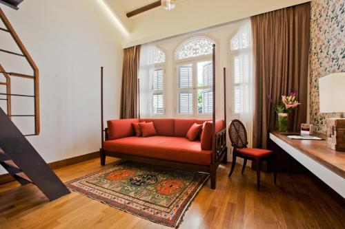 Ein Sitzbereich in der Unterkunft The Sultan (SG Clean)