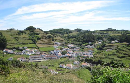 Uma vista aérea de Casa Boavista