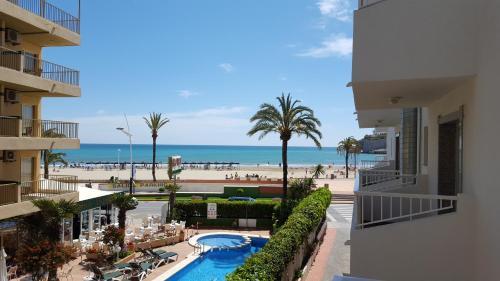 Vista de la piscina de Hotel Arena Prado o alrededores
