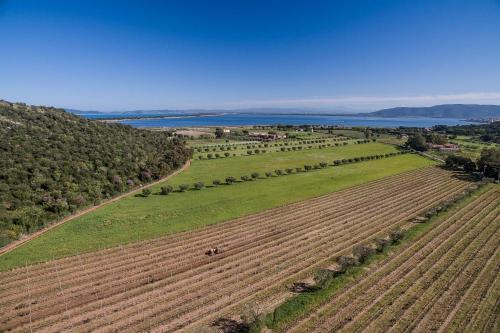 A bird's-eye view of Agriturismo Ristorante Monte Argentario