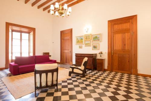 Coin salon dans l'établissement 4 Cantons - La Goleta Villas