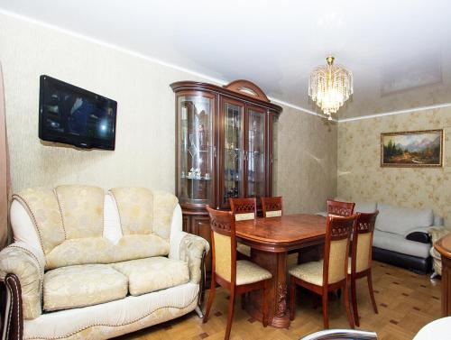 Гостиная зона в ApartLux Люкс на Савеловской