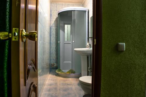 Ванная комната в Банкетно-гостиничный комплекс Товарково