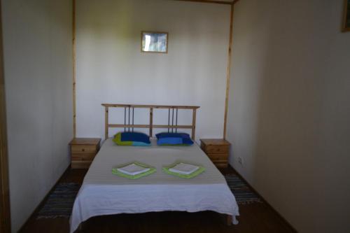 Кровать или кровати в номере Daiwa-Fish Inn