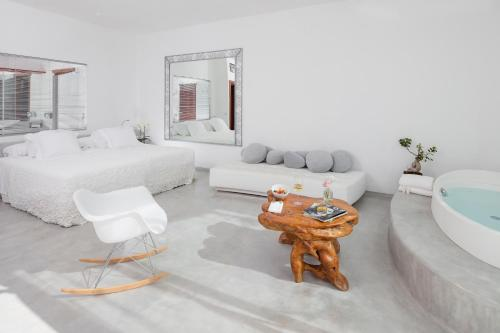 Zona de estar de Hacienda Na Xamena, Ibiza