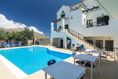 The swimming pool at or near Olive Tree