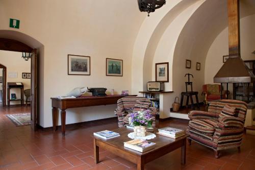 The lobby or reception area at Il Granaio dei Casabella