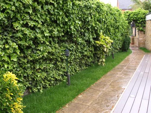 A garden outside Best Western Chiswick Palace & Suites London