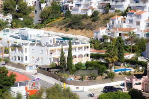 Ett flygfoto av Apartamentos Almoraide Suites