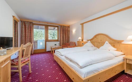 Ein Zimmer in der Unterkunft Hotel Waldheim