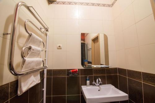 Ванная комната в Бутик-отель  «Три Богатыря»