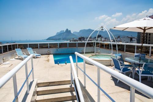 Balcon ou terrasse dans l'établissement Atlantis Copacabana Hotel
