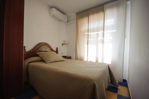 A room at Hostal Restaurante la Trucha