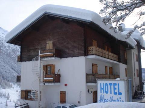 Hotel Alpe Fleurie зимой