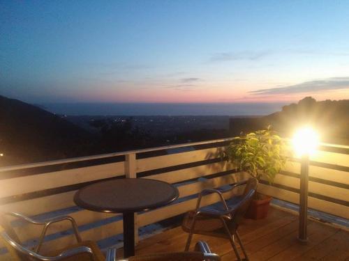 A balcony or terrace at Casa Tommasini