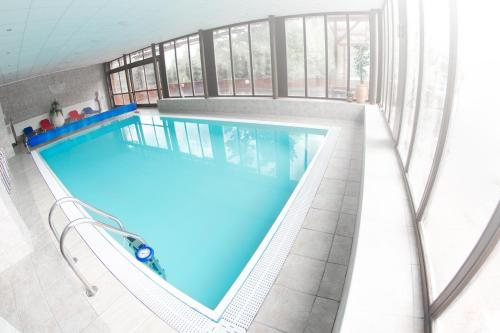 The swimming pool at or near Hotel Sachticka