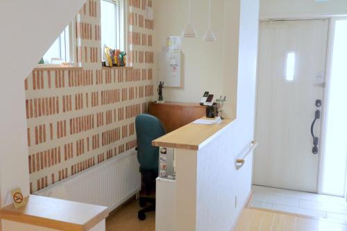 A bathroom at Ocho Guest House