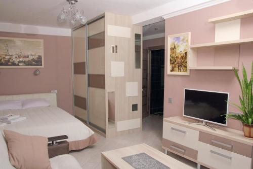 A room at Apartment Obolonskiy prospekt 31