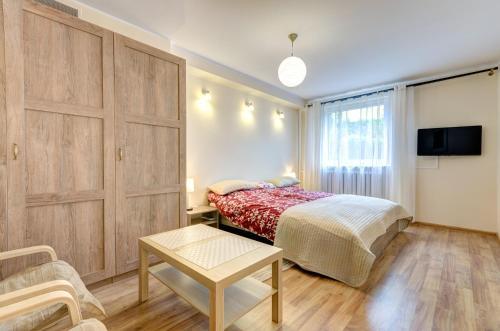 Pokój w obiekcie Apartament Brzeźno