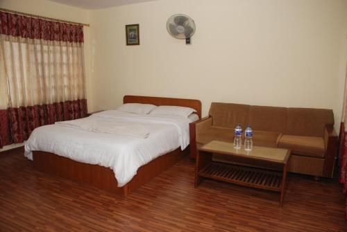 Una habitación en Kathmandu Madhuban Guest House