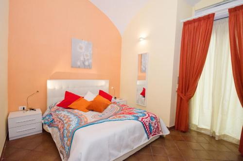 A bed or beds in a room at B&B L'Incrocio