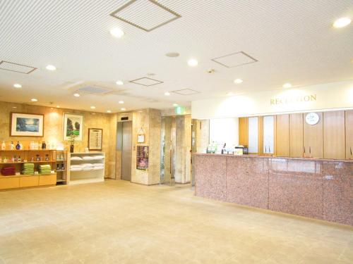 The lobby or reception area at Green Hotel Omagari