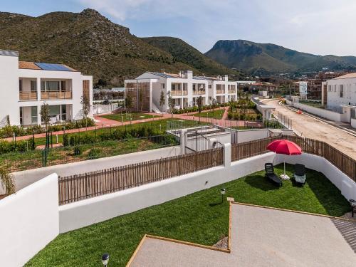A balcony or terrace at Villa Omero