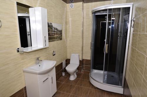 Ванная комната в Гостевой дом КАКТУС