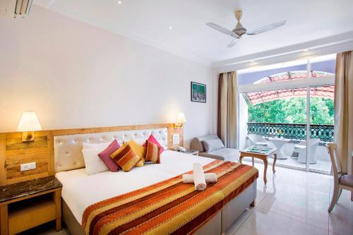 A room at Villa San Lawrenz