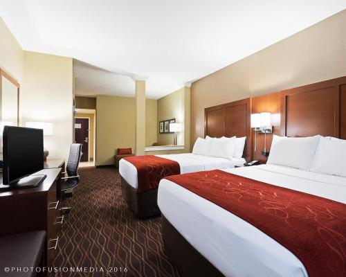 A room at Comfort Suites