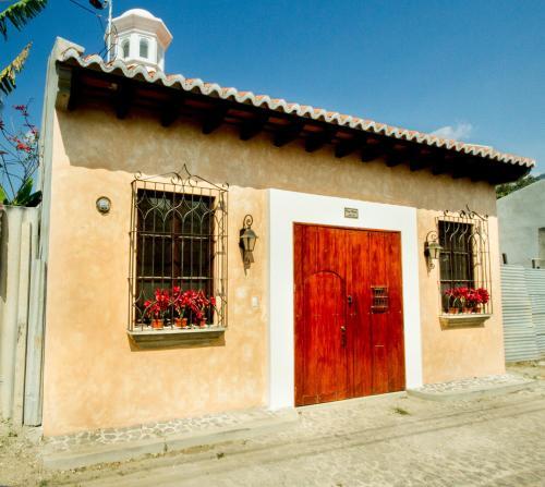 The facade or entrance of Casa Elena