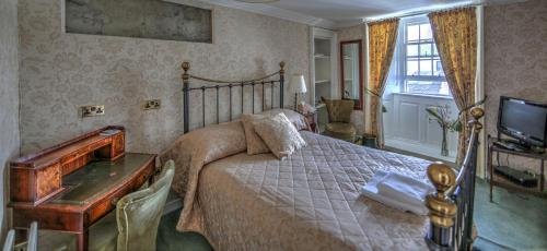 A room at Busta House Hotel