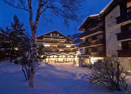 Le Mirabeau Hotel & Spa during the winter