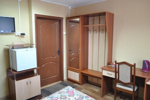 Кухня или мини-кухня в mini-hotel na Melentjeva