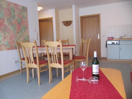 Lounge oder Bar in der Unterkunft Ferienanlage Harzfreunde