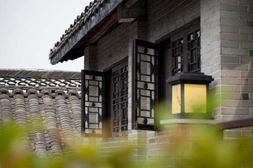 A balcony or terrace at Buddha Zen Hotel