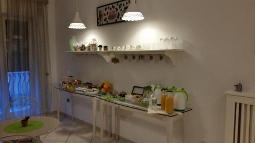 Cucina o angolo cottura di B&B Aminei Metrò