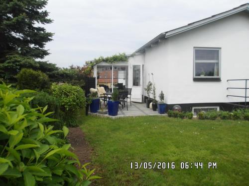 En terrasse eller udendørsområde på Mit Bed & Breakfast