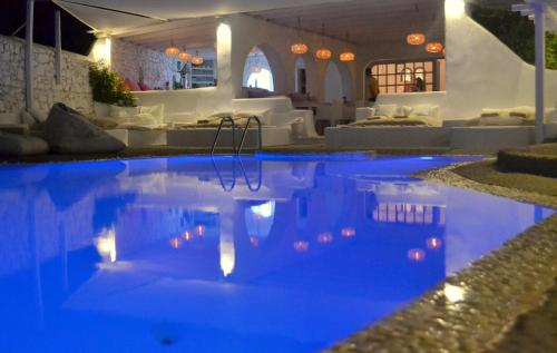 The swimming pool at or near Apsenti couples only - Mykonos