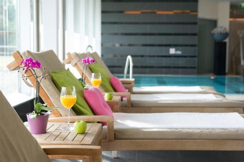 Spa en/of wellnessfaciliteiten van Steigenberger Airport Hotel Amsterdam